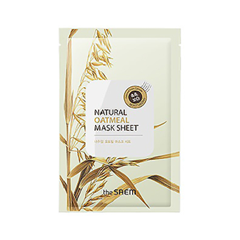 The Saem Natural Oatmeal Mask Sheet (Объем 21 мл) шапка herschel abbott heathered oatmeal