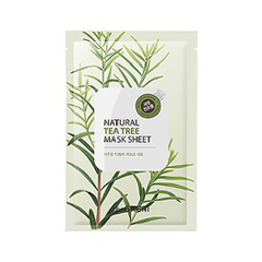 Тканевая маска The Saem Natural Tea Tree Mask Sheet (Объем 21 мл) the saem natural gold kiwi mask sheet объем 21 мл