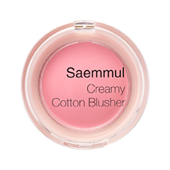 Румяна The Saem Saemmul Creamy Cotton Blusher 01 (Цвет 01 Pure Pink variant_hex_name FDA9BE)