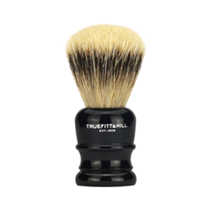 Помазки Truefitt&Hill Faux Ebony Super Badger Shave Brush Wellington (Цвет Faux Ebony variant_hex_name 1A1519) zy best men straight shaving razor set zy430 cut throat leather sharpening strop stand shave beard badger brush bowl