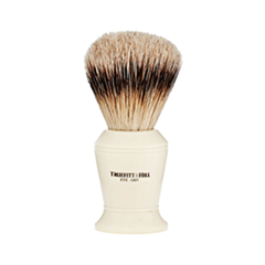 Помазки Truefitt&Hill Faux Ivory Super Badger Shave Brush Carlton (Цвет Faux Ivory variant_hex_name E9E1CC) zy best men straight shaving razor set zy430 cut throat leather sharpening strop stand shave beard badger brush bowl