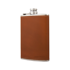 Для мужчин Truefitt&Hill Фляга большая 8oz Hipflask Tan (Цвет Tan variant_hex_name 9E3B1C)