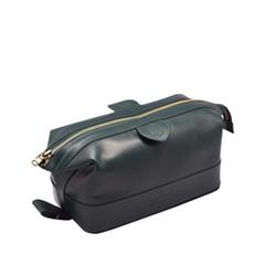 Косметички Truefitt&Hill Gentleman`s Wash Bag Green (Цвет Green variant_hex_name 21310A)