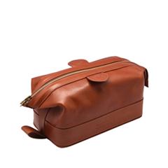���������� Truefitt&Hill Gentleman`s Wash Bag Tan (���� Tan)