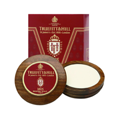 Для бритья TruefittHill Люкс-мыло 1805 Luxury Shaving Soap In Wooden Bowl (Объем 99 г)