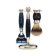��� ������ Truefitt&Hill ����� Edwardian Set Faux Blue Opal: Badger Brush Fusion Razor Stand (���� Faux Blue Opal)