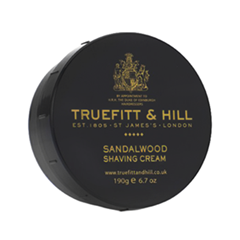 Для бритья Truefitt&Hill Sandalwood Shaving Cream (Объем 190 г) стайлинг truefitt