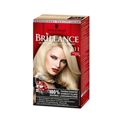 Краска для волос Schwarzkopf Brillance 811 (Цвет 811 Cкандинавский блондин variant_hex_name CBB28E)