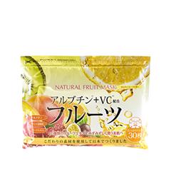 Тканевая маска Japan Gals Набор масок с фруктовыми экстрактами 30 шт.
