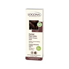Краска для волос Logona Color Cream Teak (Цвет Teak variant_hex_name 653938)
