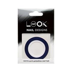 Дизайн ногтей nailLOOK Лента Striping Tape Синяя