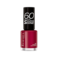 Лак для ногтей Rimmel 60 Seconds 340 (Цвет 340 Berries And Cream variant_hex_name A20636)