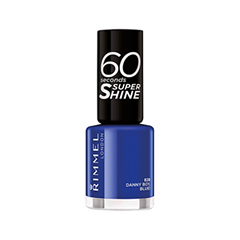 Лак для ногтей Rimmel 60 Seconds 828 (Цвет 828 Danny Boy, Blue! variant_hex_name 243891)
