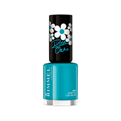 Лак для ногтей Rimmel 60 Seconds Rita Ora 880 (Цвет 880 Port-A-Loo-Blue variant_hex_name 00A8BB)