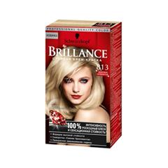 Краска для волос Schwarzkopf Brillance 813 (Цвет 813 Жемчужно-серебристый блондин variant_hex_name C0A276)
