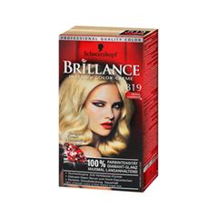 Краска для волос Schwarzkopf Brillance 819 (Цвет 819 Кристальная шампань variant_hex_name BB9975)