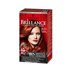 Краска для волос Schwarzkopf Brillance 843 (Цвет 843 Глянцевая бронза variant_hex_name 622C1B)