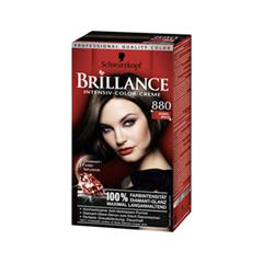 Перманентное окрашивание Schwarzkopf Brillance 880 (Цвет 880 Темный каштан variant_hex_name 20150A)