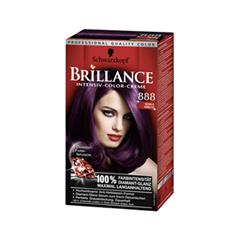 Краска для волос Schwarzkopf Brillance 888 (Цвет 888 Темная вишня variant_hex_name 36172C)