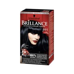 Краска для волос Schwarzkopf Brillance 891 (Цвет 891 Иссиня-черный variant_hex_name 101619)