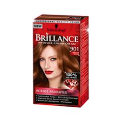 Краска для волос Schwarzkopf Brillance 901 (Цвет 901 Абсолютный медный variant_hex_name 6B3625)