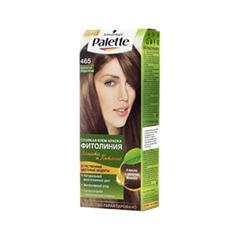 Краска для волос Schwarzkopf Palette Фитолиния 465 (Цвет 465 Золотистистый средне-русый variant_hex_name 603C25)