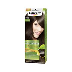 Краска для волос Schwarzkopf Palette Фитолиния 700 (Цвет 700 Каштановый variant_hex_name 927368)