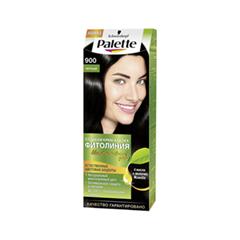 Краска для волос Schwarzkopf Palette Фитолиния 900 (Цвет 900 Черный variant_hex_name 52514F)
