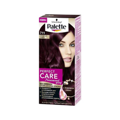 Palette Perfect Care 711 (Цвет 711 Сладкая слива variant_hex_name 4E2630)