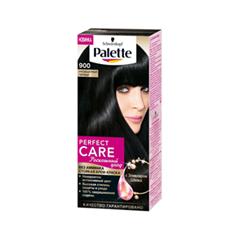 Краска для волос Schwarzkopf Palette Perfect Care 900 (Цвет 900 Насыщенный черный variant_hex_name 211F1A)