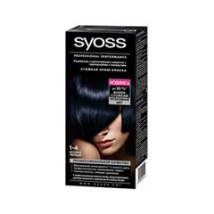 Краска для волос Syoss Syoss Color 1-4 (Цвет 1-4 Иссиня-черный  variant_hex_name 2B343E)
