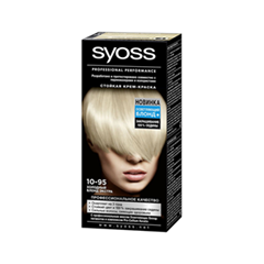 Перманентное окрашивание Syoss Syoss Color 10-95 (Цвет 10-95 Холодный блонд экстра variant_hex_name F9EEDC) набор для плетения lori брелоки совушка из бусин от 7 лет бус 034