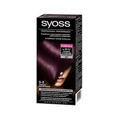 Syoss Color 3-3 (Цвет 3-3 Темный фиолетовый  variant_hex_name 552E39)