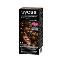 Краска для волос Syoss Syoss Color 5-8 (Цвет 5-8 Ореховый светло-каштановый  variant_hex_name 432416)
