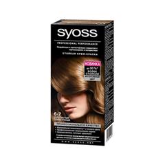 Перманентное окрашивание Syoss Syoss Color 6-7 (Цвет 6-7 Золотистый темно-русый  variant_hex_name 925F39)
