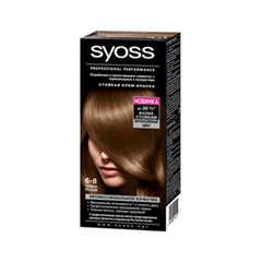 Syoss Color 6-8 (Цвет 6-8 Темно-русый  variant_hex_name 68401C)