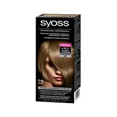 Краска для волос Syoss Color 7-6 (Цвет 7-6 Русый variant_hex_name 84562D)