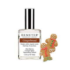 Одеколон Demeter «Имбирный пряник» (Gingerbread) (Объем 30 мл) одеколон demeter шоколад с мятой chocolate mint объем 30 мл