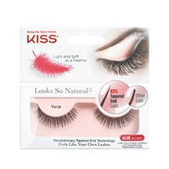 ��������� ������� Kiss Looks So Natural Eyelashes Vamp