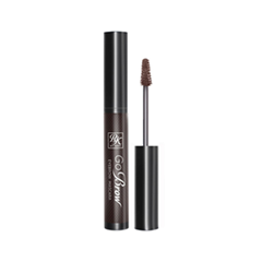 Тушь для бровей Kiss Go Brow Eyebrow Mascara RBM02 (Цвет RBM02 Dark Brown variant_hex_name 817C79) тушь для ресниц kiss envy express volume mascara dark brown цвет dark brown variant hex name 563e3a