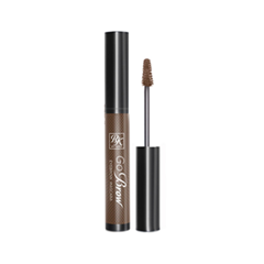 Тушь для бровей Kiss Go Brow Eyebrow Mascara RBM03 (Цвет RBM03 Rich Chocolate Brown variant_hex_name 989087) тушь для бровей bronx colors eyebrow mascara 03 цвет 03 dark brown variant hex name 674e41