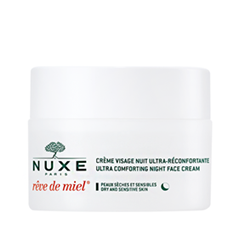 Ночной уход Nuxe Crème Visage Ultra-Réconfortante Nuit Rêve de Miel (Объем 50 мл) скраб nuxe rêve de miel gommage gourmand nourrissant corps объем 175 г