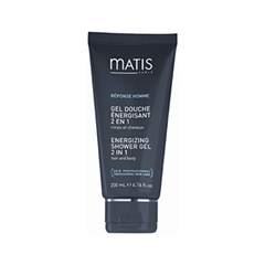 Гель для душа Matis Reponse Homme Energizing Shower Gel 2 in 1 (Объем 200 мл)