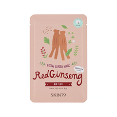 Тканевая маска Skin79 Fresh Garden Mask Red Ginseng (Объем 23 г)