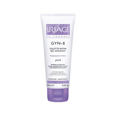 Интимная гигиена Uriage Гель для интимной гигиены Gyn-8 Toilette Intime Gel Apaisant (Объем 100 мл)