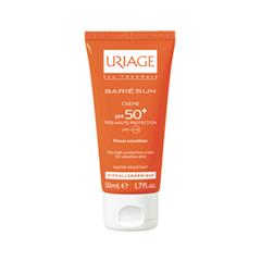 Защита от солнца Uriage Крем Bariésun Crème SPF50+ (Объем 50 мл) embryolisse crème riche hydratante объем 50 мл