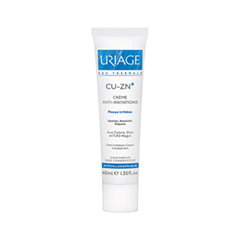 Uriage Крем против раздражений CU-ZN+ Crme Anti-Irritations (Объем 40 мл)