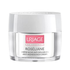 Специальный уход Uriage Насыщенный крем против покраснений Roseliane Creme Riche Anti-Rougeurs (Объем 40 мл)