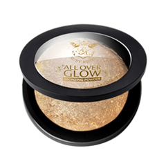Бронзатор Kiss All Over Glow Bronzing Powder ABP04 (Цвет ABP04 Deep variant_hex_name CB995C) бронзеры kiss kiss бронзирующая пудра deep glow face
