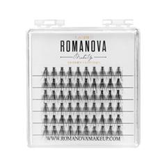 Накладные ресницы Romanova MakeUp Пучки M-Medium Mini